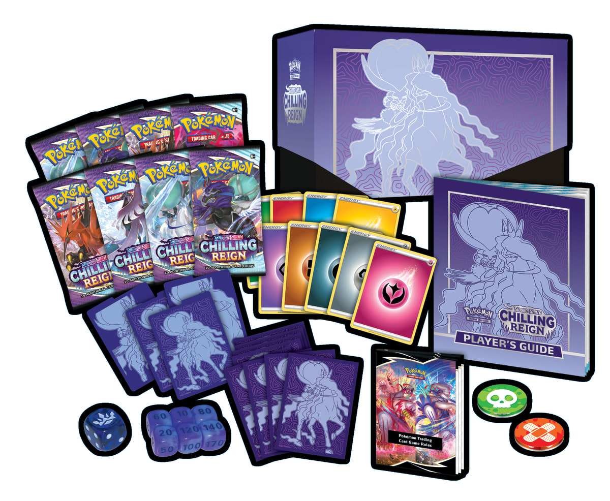 Pokemon-Trading-Card-Game-Sword-and-Shield-Chilling-Reign-Elite-Trainer-Box-Open-2