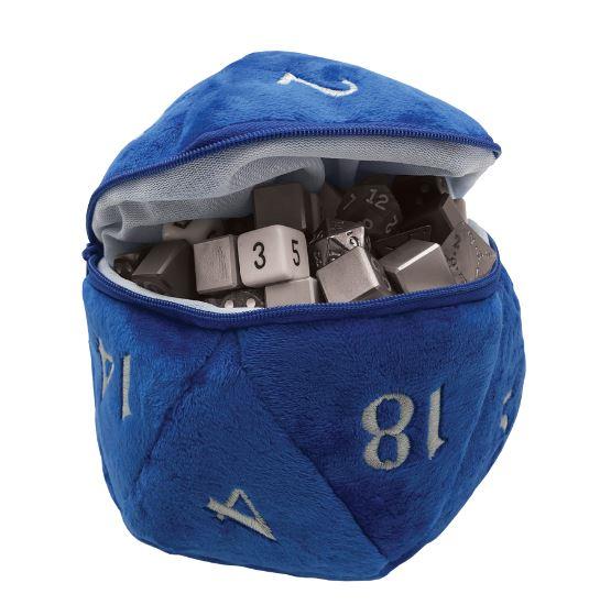 ultra-pro-d20-plush-dice-bag-blue