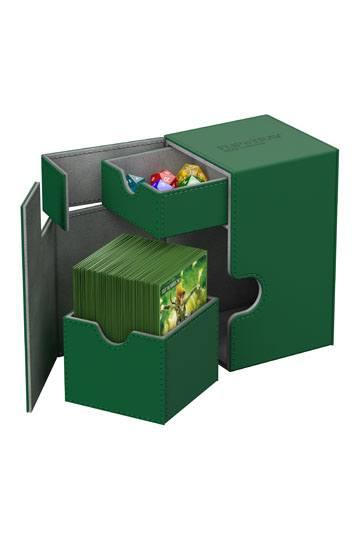Ultimate-Guard--flip-n-tray-100-xenoskin-green