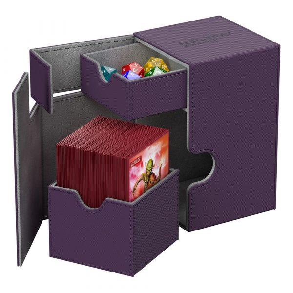 Ultimate-Guard--flip-n-tray-100-xenoskin-purple